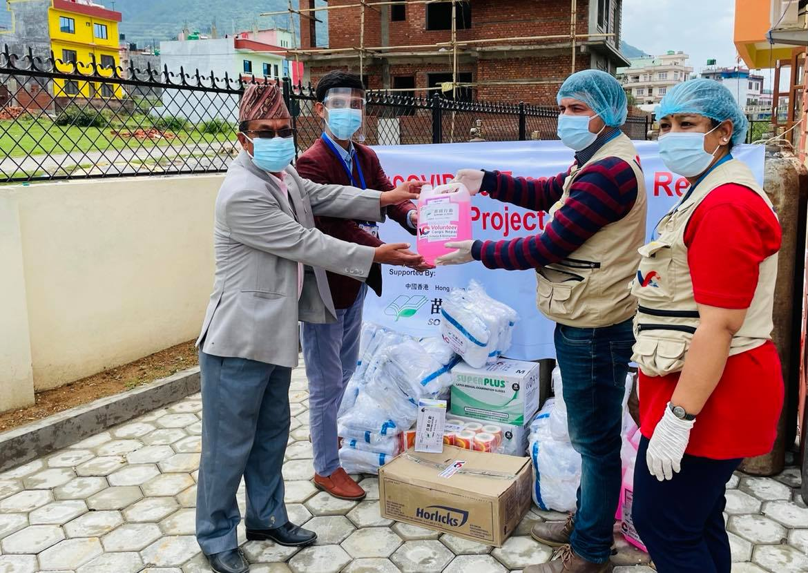 VCN Handing Over of Medical Equipment and Supplies to Chandragiri Primary Hospital in Support of Sowers Action, Hong Kong, China
