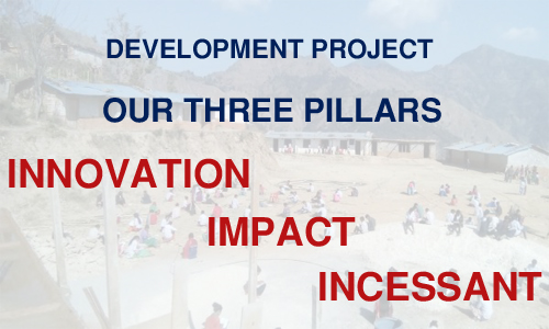 Three Pillars of Development Project